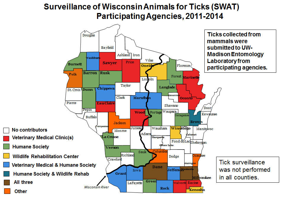 SWAT locations